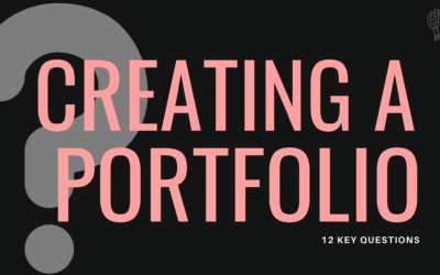 Creating a Portfolio? Ask Yourself These 12 Important Questions First